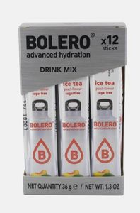 Bolero - Drink Sticks Ice Tea Pesca Confezione 12 Bustine