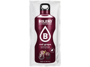 Bolero- Drink Uva Rossa Confezione 9 Gr