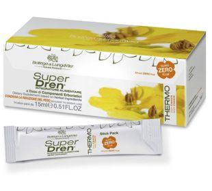 Bottega Di LungaVita - Superdren Quasi Zero Thermo Cassia Confezione 14 Stick