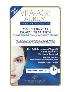 Bottega Di LungaVita - Vita Age Aurum Cellule Staminali Maschera Viso Confezione 15 Ml