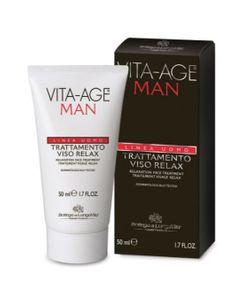 Bottega Di Lungavita - Vita Age Man Trattamento Viso Relax Confezione 50 Ml