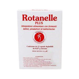 Bromatech - Rotanelle Plus Confezione 12 Capsule (Scadenza Prodotto 28/11/2021)