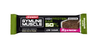 Enervit - Gymline Muscle High Protein Barretta 50% Gusto Brownie Confezione 60 Gr