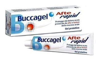 Buccagel - Afte Rapid Gel Confezione 10 Ml