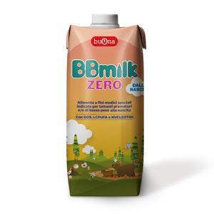 Buona - BBmilk Zero Liquido Confezione 500 Ml (Scadenza Prodotto 30/07/2021)