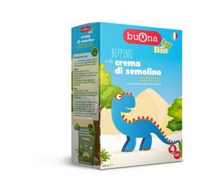 Buona - Bio Beppino e La Crema di Semolino Confezione 250 Gr