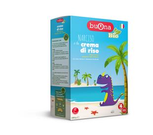 Buona- Bio Narciso e La Crema di Riso Confezione 250 Gr