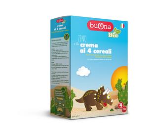 Buona -Bio Zeno e La Crema 4 Cereali Confezione 250 Gr