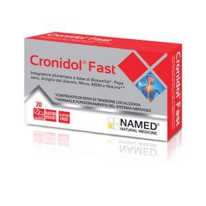 Cronidol Fast - Confezione 20 Compresse (Scadenza Prodotto 01/03/2021)