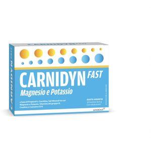 Carnidyn - Fast Magnesio E Potassio Confezione 20 Bustine