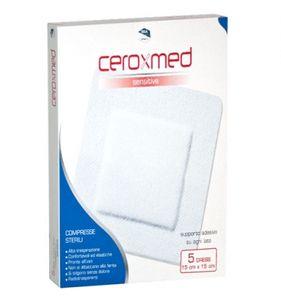 Ceroxmed - Sensitive Dress Cerotti 15x15 Cm Confezione 5 Pezzi