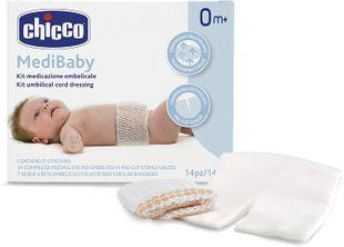 Chicco - Kit Medicazione Ombelicale Confezione 14 Pezzi
