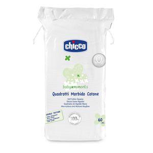 Chicco - Quadrotti Baby 0M+ Confezione 60 Pezzi