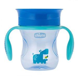 Chicco - Tazza Perfect Cup Azzurro 12M+ Confezione 1 Pezzo