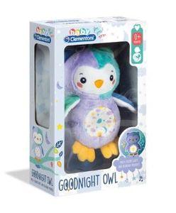 Clementoni - Baby Goodnight Owl Carillon Luminoso