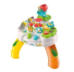 Clementoni - Baby Tavolo Attività Parco Degli Animali Confezione 1 Pezzo