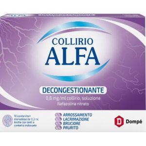 Alfa - Decogestionante Collirio Confezione 10 Monodose