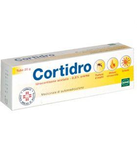 Cortidro - Crema 0,5% Confezione 20 Gr (Scadenza Prodotto 01/11/2020)