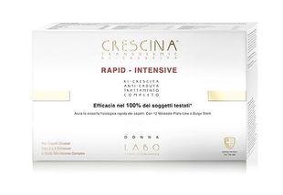 Crescina - Transdermic Rapid Intensive 500 Donna Confezione 20 Fiale