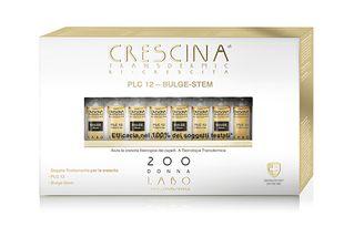 Crescina - Transdermic Ricrescita Plc 12 Con Bulge Stem 200 Donna Confezione 20 Fiale