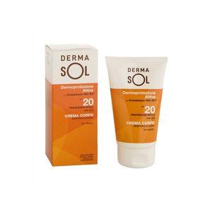 Dermasol - Crema Corpo Spf 20 Confezione 100 Ml