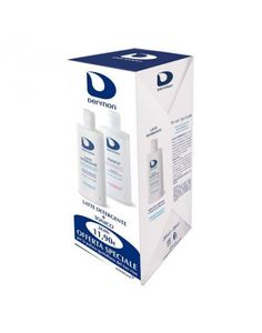 Dermon - Bipacco Latte Detergente + Tonico Confezione 2 Pezzi