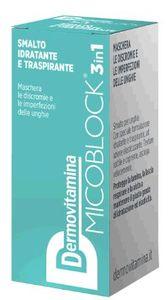 Dermovitamina - Micoblock 3 In 1 Smalto Idratante e Traspirante Confezione 5 Ml