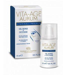 Bottega Di LungaVita - Vita Age Aurum Cellule Staminali Gel Borse Ed Occhiaie Confezione 15 Ml