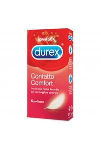 Durex - Contatto Easyon Confezione 6 Profilattici
