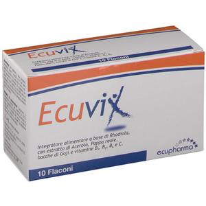 Ecuvix - Flaconcini Confezione 10 Flaconi