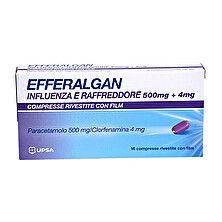 Efferalgan - Influenza e Raffreddore 500 Mg Confezione 16 Compresse