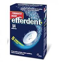 Efferdent - Confezione 54 Compresse Effervescenti