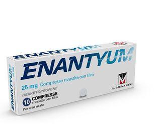 Enantyum - 25 Mg Confezione 10 Compresse