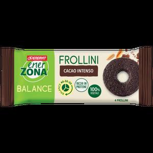 Enervit - Enerzona Frollini 40-30-30 Cacao Intenso Monodose Confezione 24 Gr