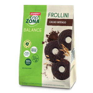 Enervit - Enerzona Frollini 40-30-30 Cioccolato Fondente Intenso Confezione 250 Gr