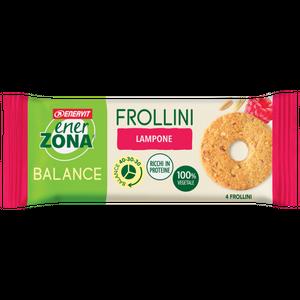 Enervit - Enerzona Frollini 40-30-30 Lampone Monodose Confezione 24 Gr