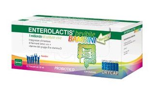 Enterolactis - Bevibile Bambini Confezione 12 Flaconcini