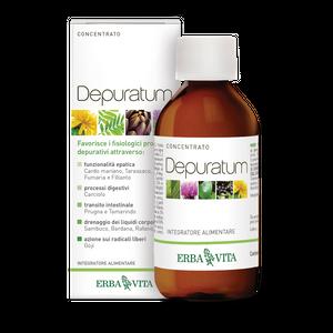 Erba Vita - Depuratum Concentrato Confezione 200 Ml