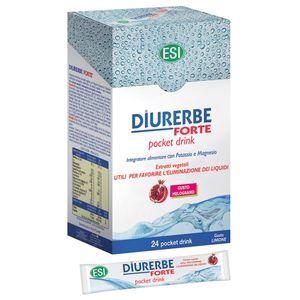Esi - Diurerbe Drink Melograno Confezione 24 Pocket