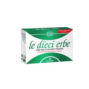 Esi - Le Dieci Erbe Confezione 40 Tavolette