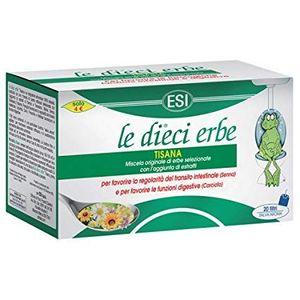 Esi - Le Dieci Erbe Tisana Confezione 20 Tisane (Scadenza Prodotto 28/04/2021)