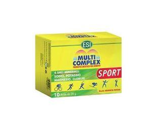 Esi - Multicomplex Sport Confezione 10 Bustine (Scadenza Prodotto 31/08/2021)