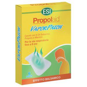 Esi - Propolaid Vaporpatch Confezione 6 Cerotti (Scadenza Prodotto 28/07/2021)