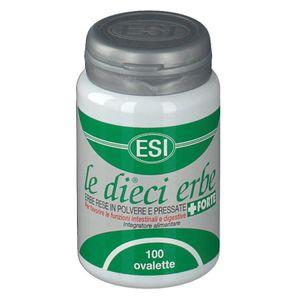 Esi - Le Dieci Erbe + Forte Confezione 100 Tavolette