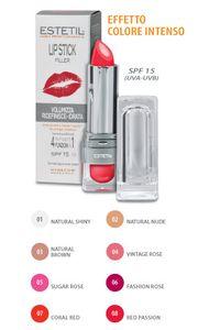 Estetil - Lip stick filler  Rossetto 4 funzioni in 1 Colorazione 7