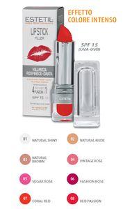 Estetil - Lip stick filler - Rossetto 4 funzioni in 1 – Colorazione 8