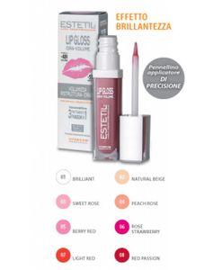 Estetil - Lipgloss Idravolume 3 Funzioni In 1 Colorazione 3 Confezione Stick 6,5 Ml