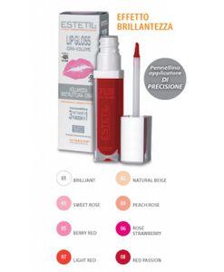 Estetil - Lipgloss Idravolume 3 Funzioni In 1 Colorazione 8 Confezione Stick 6,5 Ml
