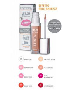 Estetil - Lipgloss idravolume - Gloss-trattamento 3 funzioni in 1 - Colorazione 4