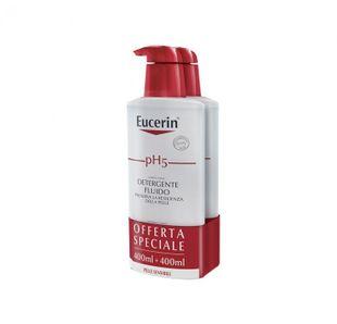 Eucerin - Ph5 Detergente Fluido BipaccoConfezione 2X400 Ml